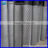 stretched aluminum expanded metal mesh/ 4mm thickness low carbon steel expanded metal mesh