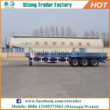 2017 China hot sale 3 axles 60T amazing bulk trailer, bulker cement tank trailer for sale