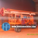 trailer Percussion type pile drilling equipment HF-6A