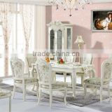 Korea Style Dinning Room Furniture,Gardening Style Wooden Dinning Table Sets,Asian Peaceful Style Dinning Room Furniture