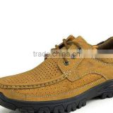 fashion stylish brand name outdoor shoes for male, men leather shoes casual high quality