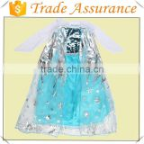 Factory sale Elsa Princess costume/frozen dress elsa/ frozen elsa coronation dress costume cosplay