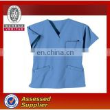 Men's blue medical shirt