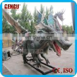 Outdoor High Simulation And Quality Resin Dragon Garden Statues