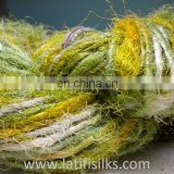 RECYCLE SILK YARN
