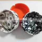 Disposable Pocket Outdoor Cigar Silicone Ashtray
