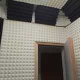 ProCorner Acoustical foam bass trap for absorbing recording room standing wave