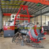 Ship Cutter Suction Dredger 30kw Genset Power Reclamation Construction