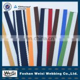 100% polyester cotton jacquard garment woven webbing belt