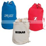 High Quality Recycled Canvas Large Drawstring Bags