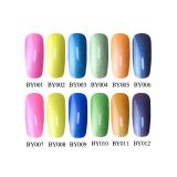 China wholesale nail supplies 36 colors UV gel nail polish soak off nail gel polish with OEM