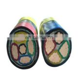 high voltage aluminum conductor armored power cable 4x4mm2/4mm/5x4mm2/