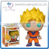 Mini Qute Funko Pop Anime Dragon ball Perfect Cell Goku super hero action figures cartoon models educational toy NO.FP 14