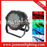 54pcs RGBW Waterproof Led Par64 Led Par Light Stage DJ Lighting Par64 Led Stage Lighting