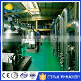 1TPD soybean oil refining machine / vegetable seeds crude oil refinery
