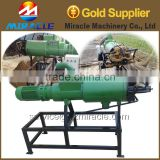 Cow dung dewatering machine, cow dung handling farm equipment, separate cow dung machine price