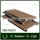 Waterproof WPC composite wood wall panel for exterior wall decoration