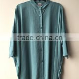 Echo Friendly Tencel Twill fabric Ladies' Loose Casual Drop Sleeve Blouse