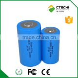 19000mAh ER34615 3.6v lithium battery D cell