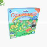 Paper packing board game box for children playing wholesale