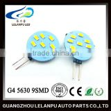 New design Auto Interior Lighs G4 5630 9SMD 12v led car parts Led decorative accessories lights g4 led