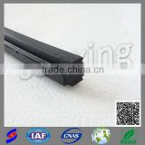 building industry hot sale glass door brush seal weather strip with adhesive for door window