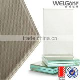 glass guardrail using structural laminating glass