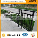 ISO certificated wrought iron stair railing with low price AJ-Stair 001