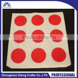 High quality custom branded logo decorative paper napkins
