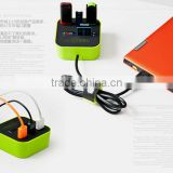 4 IN 1 USB HUB CHARGE ADAPTER/CARD READER/USB DRIVER SD, MICRO SD,M2 CARD