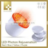 3 color LED light therapy , LED light skin rejuvenation home use facial beauty instrument on sale