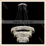 High Quality Modern hanging Crystal lighting for Wedding decoration                                                                         Quality Choice