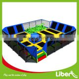 China Professional Manufacturer Trampoline with Foam Pit and Dodge Ball, Gymnastic Trampoline Cloth for Sal (5.LE.T8.409.132.00)