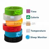 Smart Watch Fitness Silicone Wristband Pedometer