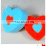 MIC3048 Heart-shaped best bath sponges