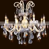 Modern commercial chandeliers candle lamp hotel crystal chandlier
