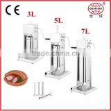 MANUAL Vertical sausage stuffer 3L with CE
