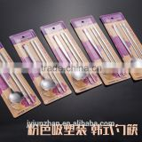 Supermarket hotsell stainless steel spoon and chopsticks sets of Korean style