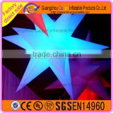 Custom giant Inflatable LED Color Changing Stars