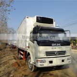DFAC 8t light duty refrigerated truck,cooling refrigeration unit for cargo van,refrigerated trucks for sale
