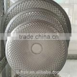 Sunyo Custom Classical Silver Charger Glass Plate Wholesale