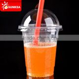 Healthy cold drinking plastic cup with dome lid                                                                         Quality Choice