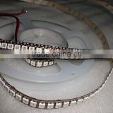 144leds/m WS2812B(5050 rgb led with WS2811 IC built-in) led pixel strip,DC5V,2m long,non-waterproof;BLACK PCB Bare Board