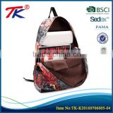 Top quality best sell colorful exclusive printing backpack bag                                                                                                         Supplier's Choice