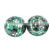 CHRISTMAS DECOR HANGING BALL/MOSAIC GLASS BALL / MOSAIC GLASS HANGING BALL                                                                         Quality Choice