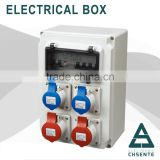 Alibaba Express Power ABS/PC European Type Electric Control Panel Box with CE CCC Certification