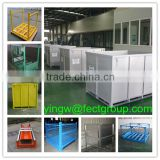 used cargo steel containers for sale/collapsible wire mesh container/metal bin storage container