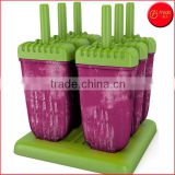 6 Pieces BPA Free Popsicle Molds Quality Ice Pop Maker
