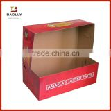 Custom kraft cardboard paper food packaging box printing with no glue                                                                                         Most Popular