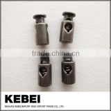 Custom design plastic cord locks, plastic cord stopper for clothes